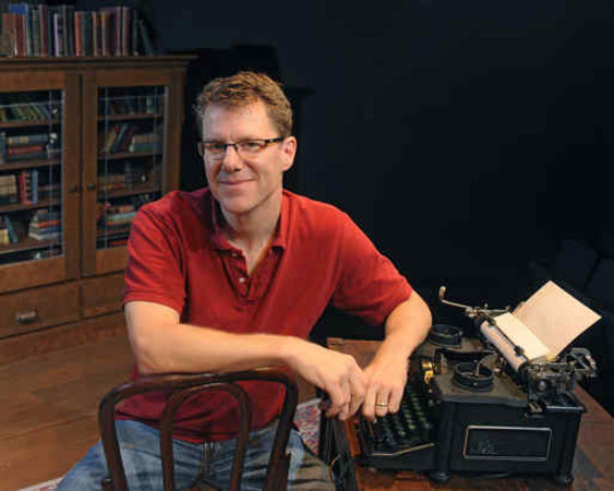 Playwright Michael Hollinger