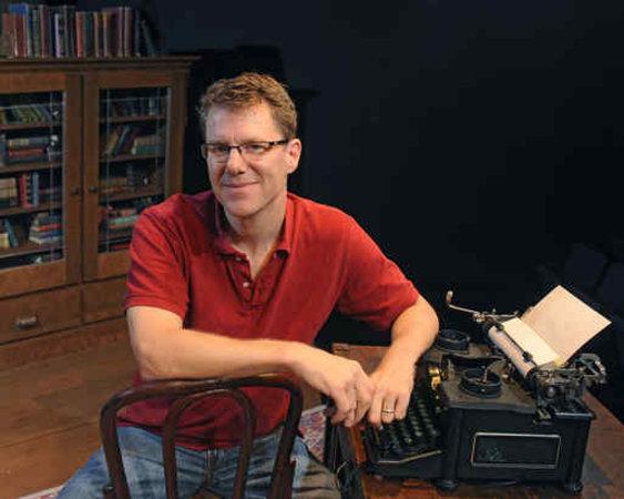 Playwright Michael Hollinger